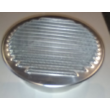 Fém szellőzőrács rovarhálóval 200 mm