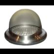 Rozsdamentes acél kültéri esővédő rács 150 mm