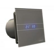 Fürdőszoba ventilátor CATA E-100GSTH időzítővel és páraérzékelővel Ezüst színű