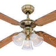 Mennyezeti ventilátor Westinghouse Princess Trio 78265 tölgy, mahagóni
