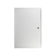 Zárható fém szervizajtó 300x600 mm fehér