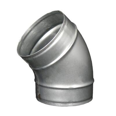 Fém légcsatorna könyök idom 45° - Ø 125 mm