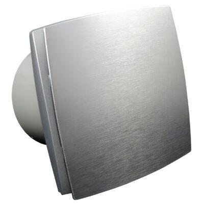 Fürdőszoba ventilátor Dalap 125 BF ezüst színű, emelt teljesítménnyel
