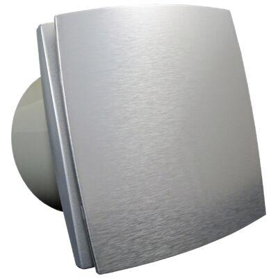 Fürdőszoba ventilátor Dalap 150 BF ezüst színű, emelt teljesítménnyel