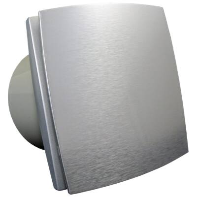 Fürdőszoba ventilátor alumínium előlappal BFAZ150 időzítővel