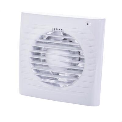 Fürdőszoba ventilátor Dalap 150 ELKE ZW páraérzékelővel, időzítővel