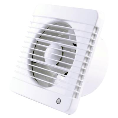 Fürdőszobai ventilátor 125 GRACE Highpress  magasnyomás, időzítő, páraérzékelő