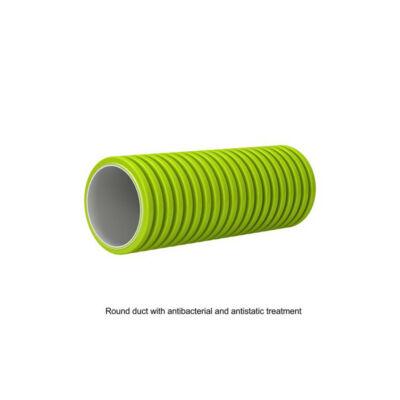Antisztatikus antibakteriális flexibilis cső Ø 75mm 50m