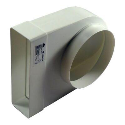 90° átalakító 204x60mm - Ø150mm