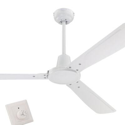Mennyezeti ventilátor Westinghouse Urban Gale fali kapcsolóval, fehér