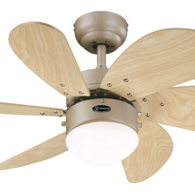 Mennyezeti ventilátor Westinghouse Turbo Swirl világos juhar