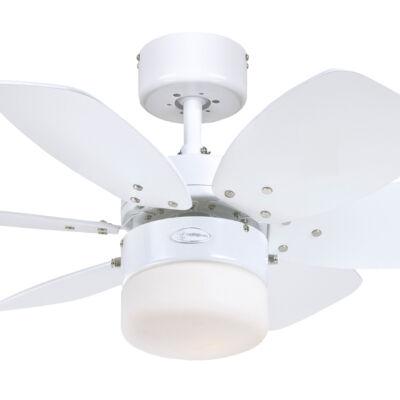 Mennyezeti ventilátor Westinghouse Flora Royal fehér, fenyő