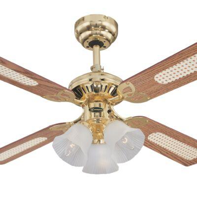 Mennyezeti ventilátor Westinghouse Princess Trio tölgy, mahagóni