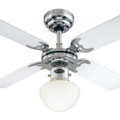 Mennyezeti ventilátor Westinghouse Portland Ambiance fehér, fekete