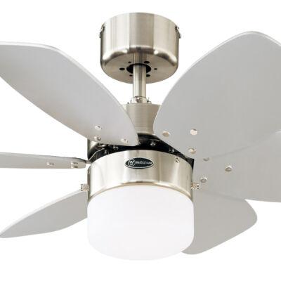 Mennyezeti ventilátor Westinghouse Flora Royale fehér, ezüst