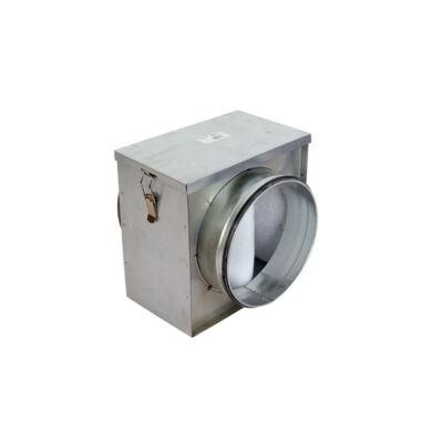 Dalap Filter B szűrőház G4 szűrőbetéttel NA125