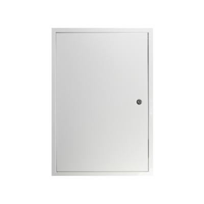 Zárható fém szervizajtó 300x400 mm fehér
