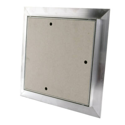 Porálló gipszkarton betétes szerelőajtó 400x400 mm
