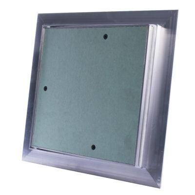 Impregnált, porálló gipszkarton betétes szerelőajtó 300x300 mm